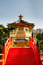 The pavilion of absolute perfection in nan lian garden hong kong Stock Photos
