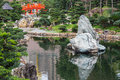 Pavilion of absolute perfection in nan lian garden hong kong Stock Image