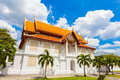 pavilion in Benjamaborphit temple Royalty Free Stock Photo