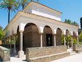 Pavilion of Carlos V, Seville Royalty Free Stock Photo