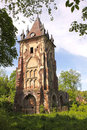 Pavilion chapelle in the alexander park tsarskoye selo russia pushkin Royalty Free Stock Photography