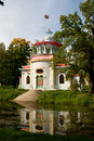 Pavilion in Chinese style in Tsarskoe Selo, Russia Royalty Free Stock Photos