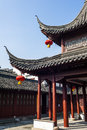 The pavilion in confucian temple nanjing Stock Photography