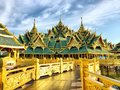 Pavilion of the enlightened in ancient siam thailand Royalty Free Stock Image