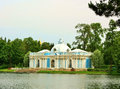 Pavilion Grotto built in baroque style Royalty Free Stock Photos