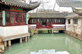 Pavilion in humble administrator s garden is the representative works of chinese jiangnan classical was approved by unesco Stock Photos