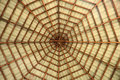 Pavilion octagon roof Stock Photos