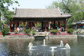Pavilion prince gong mansion beijing china Royalty Free Stock Images
