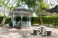 Pavilion relax in the garden Royalty Free Stock Photos