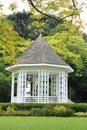 Pavilion at singapore botanic gardens mark Stock Photo
