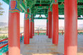Pavillion colorfull in gyeongju korea Royalty Free Stock Photos
