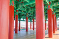 Pavillion colorfull in gyeongju korea Stock Photo
