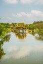 Pavillion of the enlightened ancient city samutprakarn thailand Stock Images