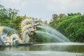 Pavillion of the enlightened ancient city samutprakarn thailand Royalty Free Stock Photography