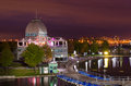 Pavillon du bassin Bonsecours Stock Photos