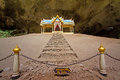 Pavillon in phraya nakorn cave nearby hua hin thailand national park khao sam roi yot Royalty Free Stock Image