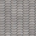 Paving slabs seamless tileable texture decorative gray Royalty Free Stock Photo