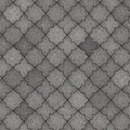 Paving slabs seamless tileable texture gray figured pavement Stock Images