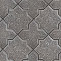 Paving slabs seamless tileable texture gray granular figured pavement Royalty Free Stock Photos
