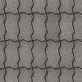 Paving slabs seamless tileable texture gray wavy vertical stacking Royalty Free Stock Photo