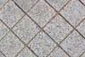 Paving stone path outdoors closeup Royalty Free Stock Photography