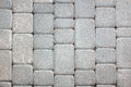 Paving stones background of gray Royalty Free Stock Image
