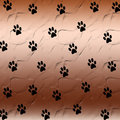 Paw print background Royalty Free Stock Photo