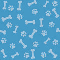 Paw prints background Stock Photo