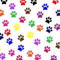 Paw Prints Pet Dog Royalty Free Stock Images