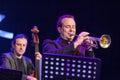 Pawel Panta at Kaunas Jazz 2015 Royalty Free Stock Photo