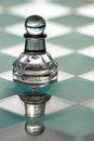 Pawn chess piece -  business concept series - strategy, small bu Royalty Free Stock Images