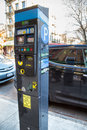 Pay By Phone Parking Meter Royalty Free Stock Photo