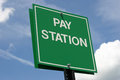Pay Station Royalty Free Stock Photo