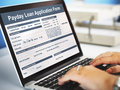 Payday Loan Application Form Salary Debt Concept Royalty Free Stock Photo