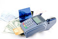 Payment machine Royalty Free Stock Image