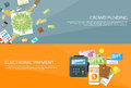 Payment Options Phone Money Credit Web Banner Set