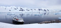 Paysage antarctique Photo libre de droits