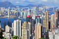 Paysage de Hong Kong Photo stock