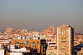Paysage urbain de Madrid Photos stock