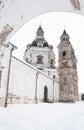 Pazaislis monastery church Royalty Free Stock Photo