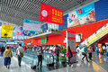 Pazhou complex canton fair active buyers and visitors at the attending Stock Photography