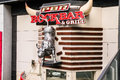 Pbr rockbar and grill professional bull riders las vegas nevada Royalty Free Stock Photos