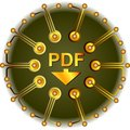 Pdf Button Royalty Free Stock Photo