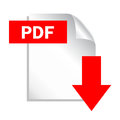 Pdf download button Stock Image