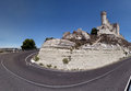 Peñafiel Castle (Panorama) Royalty Free Stock Photos
