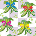 Pea seamless kitchen pattern Royalty Free Stock Photo