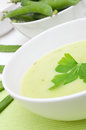 Pea Soup Royalty Free Stock Photography