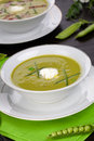 Pea soup Royalty Free Stock Photo