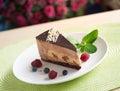 Peace of cake Royalty Free Stock Photo