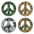 Peace Camos Royalty Free Stock Images